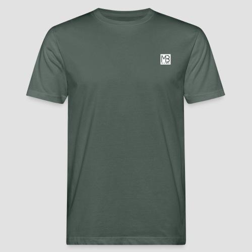 Logo MB Graphic Designer White - T-shirt ecologica da uomo