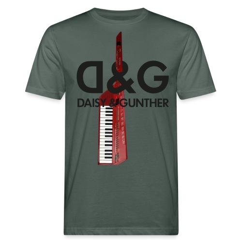 Met keytar-logo - Mannen Bio-T-shirt