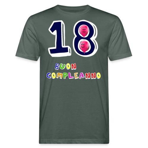 18 BUON compleanno - T-shirt ecologica da uomo