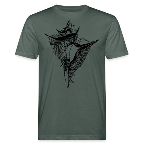 Muschel - Männer Bio-T-Shirt