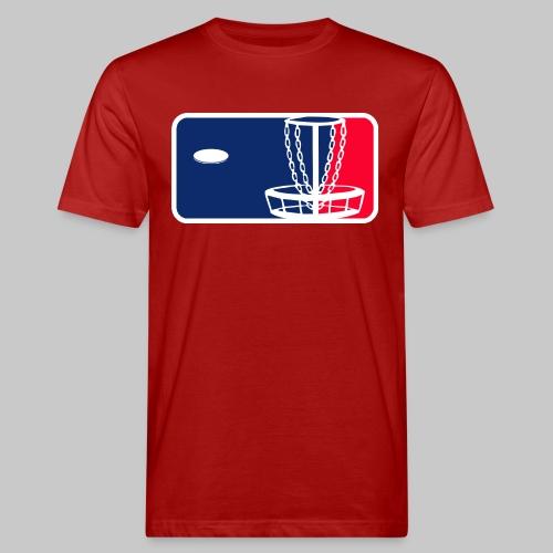 Major League Frisbeegolf - Miesten luonnonmukainen t-paita