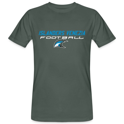 islanders football new logo - T-shirt ecologica da uomo