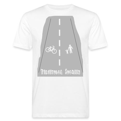 Tervetuloa Suomeen - Miesten luonnonmukainen t-paita
