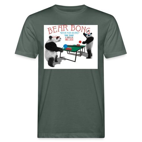 Bear Bong - Miesten luonnonmukainen t-paita