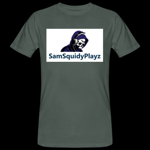 SamSquidyplayz skeleton - Men's Organic T-Shirt