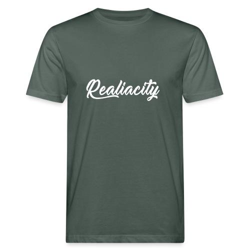 Realiacity Logo - Camiseta ecológica hombre