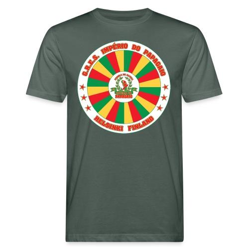 Papagaio drum logo - Miesten luonnonmukainen t-paita