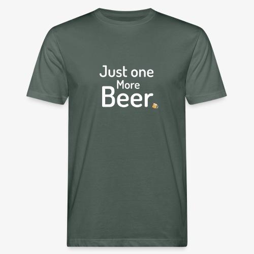 One more beer - Mannen Bio-T-shirt
