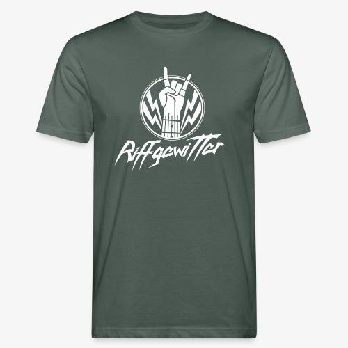 Riffgewitter - Hard Rock und Heavy Metal - Männer Bio-T-Shirt