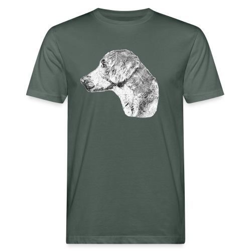 Langhaar Weimaraner - Männer Bio-T-Shirt