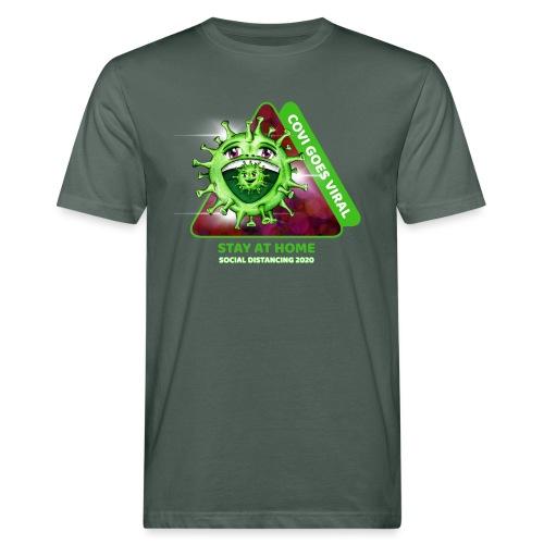 Covi goes Viral - Männer Bio-T-Shirt