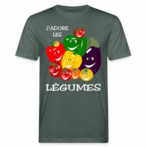 I love vegetables - Men's Organic T-Shirt