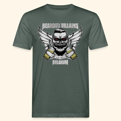 Bearded Villains Belgium - Men's Organic T-Shirt