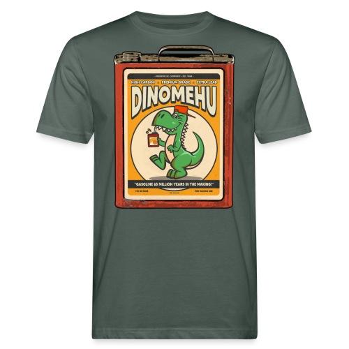 Dinomehu -kanisteri - Miesten luonnonmukainen t-paita