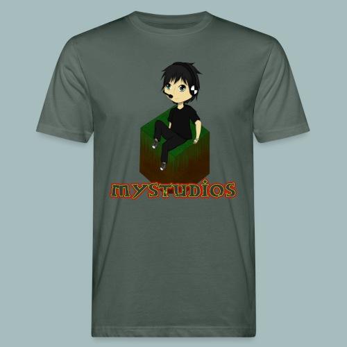 Mystudios Stylo - Männer Bio-T-Shirt