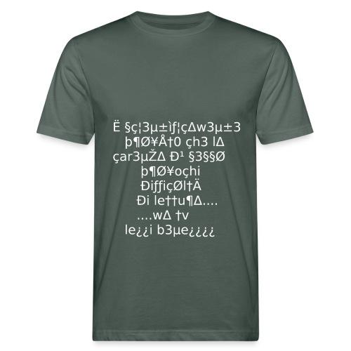 Carenza di sesso - T-shirt ecologica da uomo