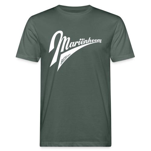 Batzen SallandSeries wit script Mariënheem - Mannen Bio-T-shirt