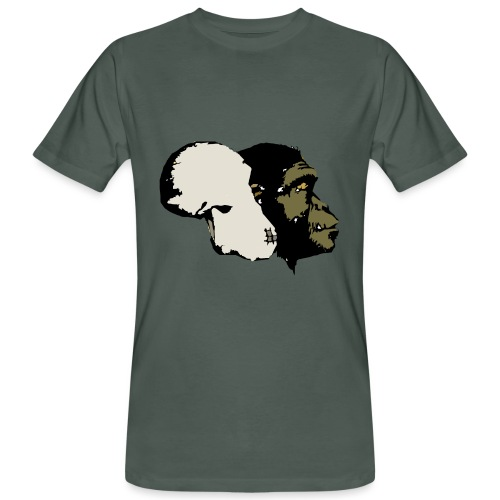 Monkey - Mannen Bio-T-shirt