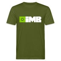 IMB Logo (plain) - Men's Organic T-Shirt - moss green