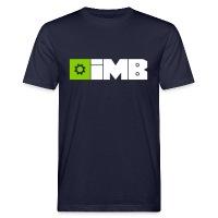 IMB Logo (plain) - Men's Organic T-Shirt - navy