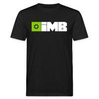 IMB Logo (plain) - Men's Organic T-Shirt black