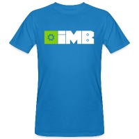 IMB Logo (plain) - Men's Organic T-Shirt - peacock-blue