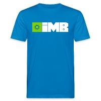 IMB Logo (plain) - Men's Organic T-Shirt peacock-blue