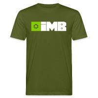 IMB Logo (plain) - Men's Organic T-Shirt moss green