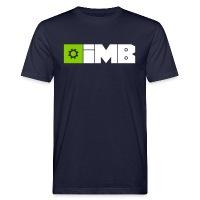 IMB Logo (plain) - Men's Organic T-Shirt navy