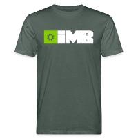 IMB Logo (plain) - Men's Organic T-Shirt grey-green