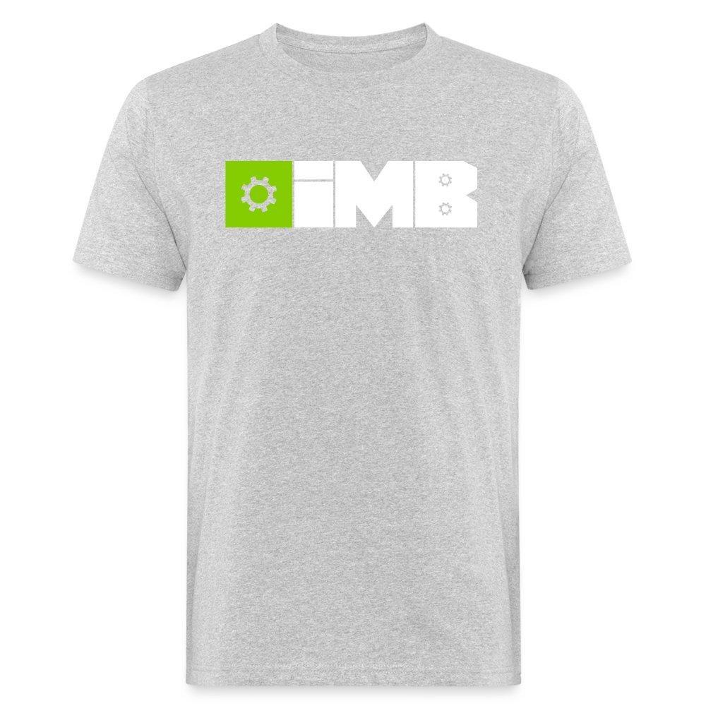 IMB Logo (plain) - Men's Organic T-Shirt - heather grey