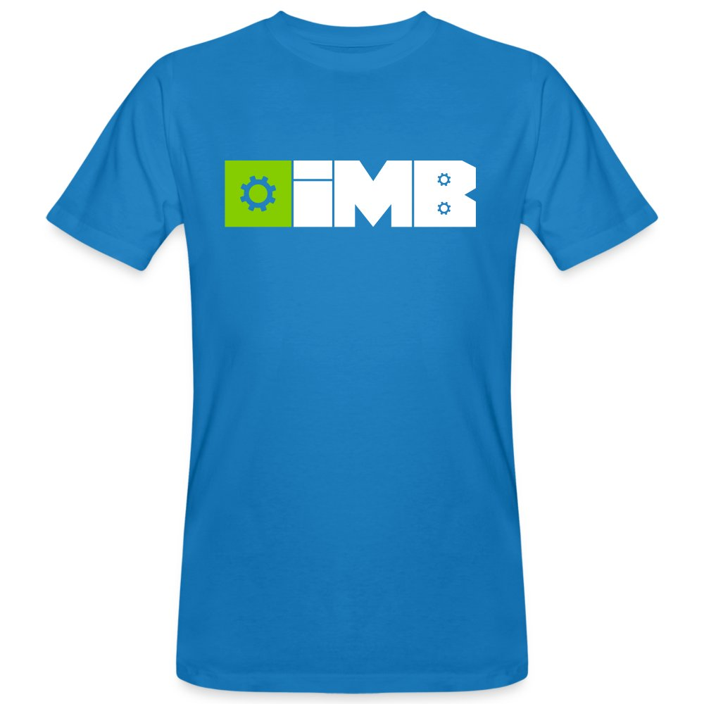 IMB Logo (plain) - Men's Organic T-Shirt - peacock-blue
