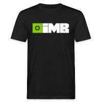 IMB Logo (plain) - Men's Organic T-Shirt - black