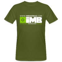 IMB Logo - Men's Organic T-Shirt - moss green