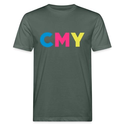 CMYK - Mannen Bio-T-shirt
