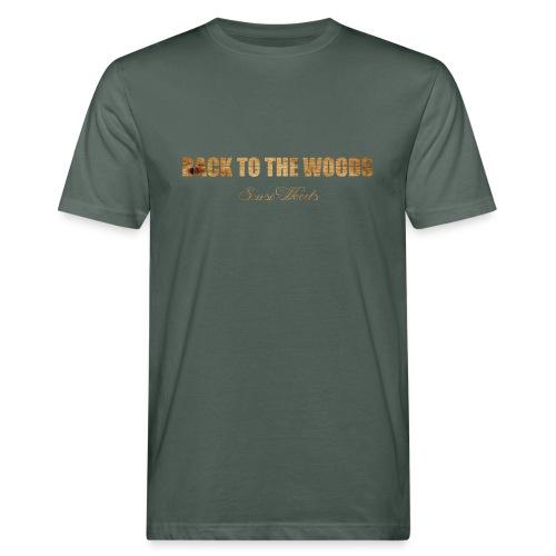 back to the woods - Männer Bio-T-Shirt