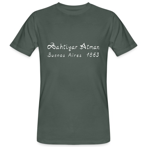 Bahtiyar Atman - Männer Bio-T-Shirt