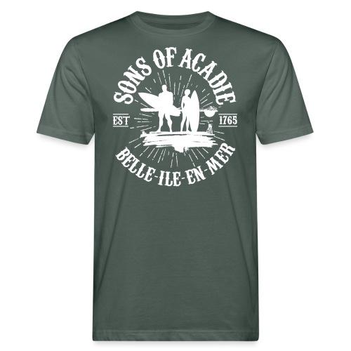 SONS OF ACADIE SURFEURS - T-shirt bio Homme