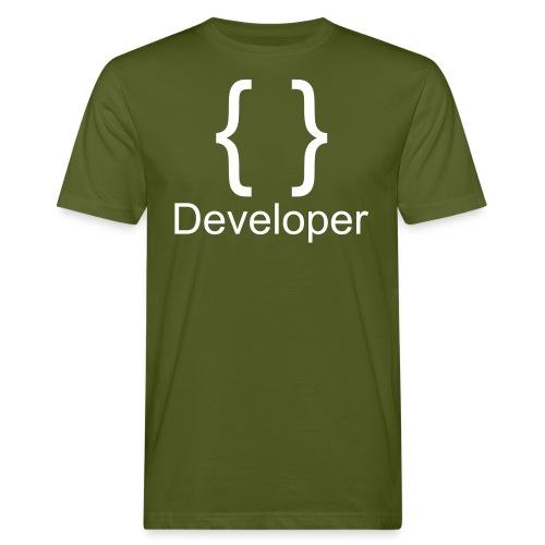 Developer - Männer Bio-T-Shirt
