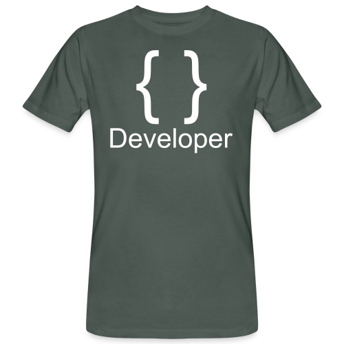 Developer - Männer Bio-T-Shirt