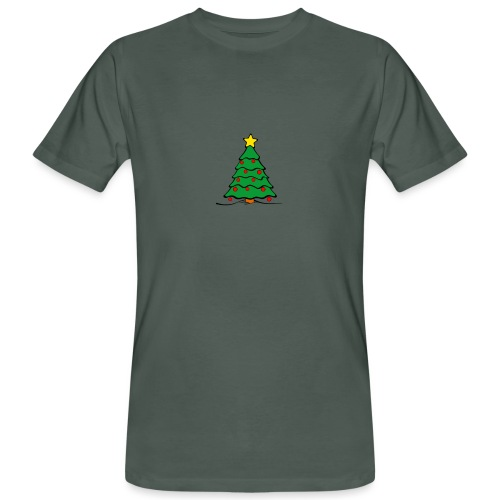 Christmas-Tree - Männer Bio-T-Shirt