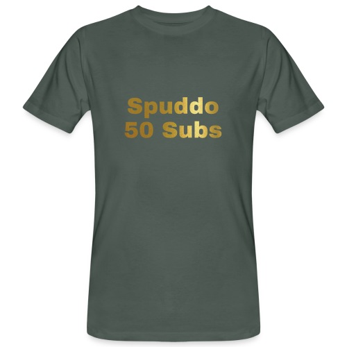 Spuddo 50 Subs Merch - Men's Organic T-Shirt