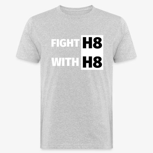 FIGHTH8 bright - Men's Organic T-Shirt