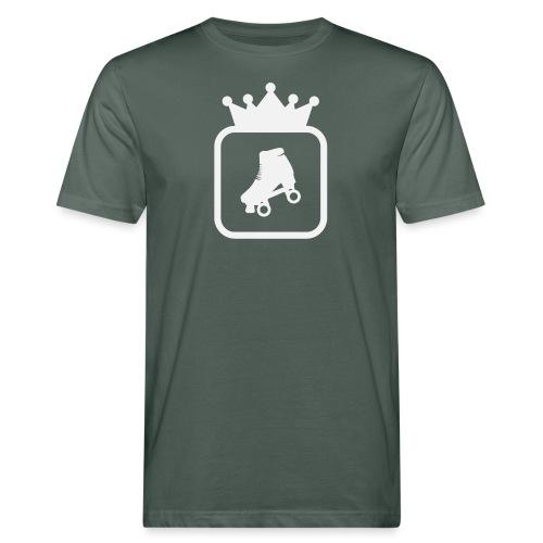 Speedskater Skating Krone - Männer Bio-T-Shirt
