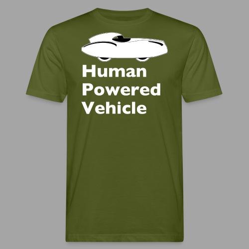 Quattrovelo Human Powered Vehicle white - Miesten luonnonmukainen t-paita