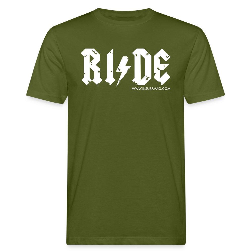 RIDE - Men's Organic T-Shirt - moss green