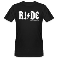 RIDE - Men's Organic T-Shirt - black