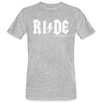 RIDE - Men's Organic T-Shirt - heather grey