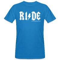 RIDE - Men's Organic T-Shirt - peacock-blue