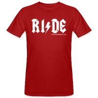 RIDE - Men's Organic T-Shirt - dark red